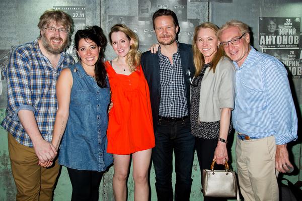 Dave Malloy, Rachel Chavkin, Ingrid Michaelson, Will Chase, Janet Kagan, Howard Kagan Photo