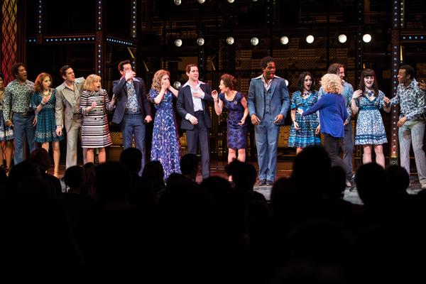 Carole King surprises West End cast, 6 March 2017, photo Craig Sugden