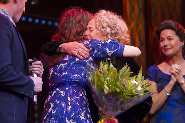 Katie Brayben and Carole King