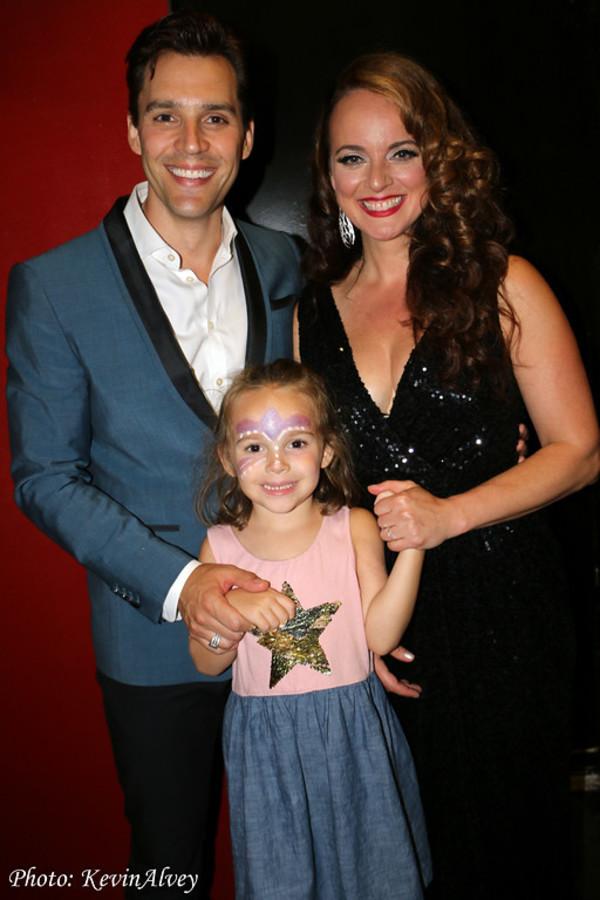 Ryan Silverman, Melissa Errico, Presley Silverman