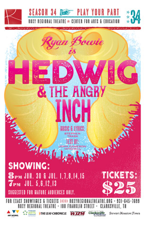 BWW Review: Ryan Bowie Brings Back His Amazing HEDWIG To The Roxy