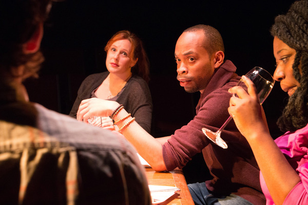 Photo Flash: Broken Nose Theatre's Hit AT THE TABLE Extends Through August