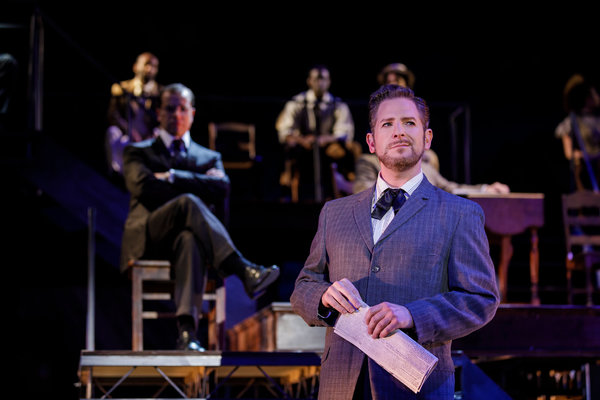 Photo Flash: First Look at Aaron Galligan-Stierle and More in PARADE at Finger Lakes
