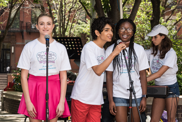 Photo Flash: NYMF's PEACE, LOVE AND CUPCAKES: THE MUSICAL Gives Sneak Peek in Midtown