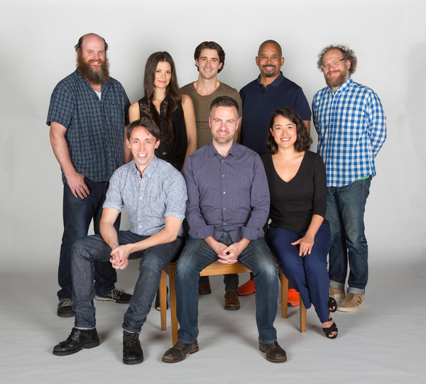 The cast of the Globe-commissioned world premiere of Ken Ludwig's Robin Hood!, runnin Photo
