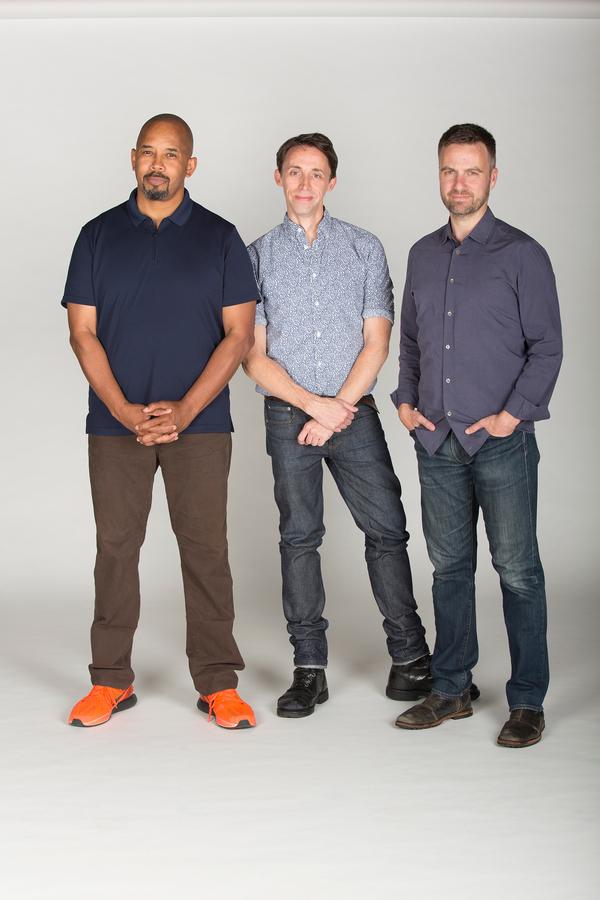 Michael Boatman, Kevin Cahoon and Manoel Felciano