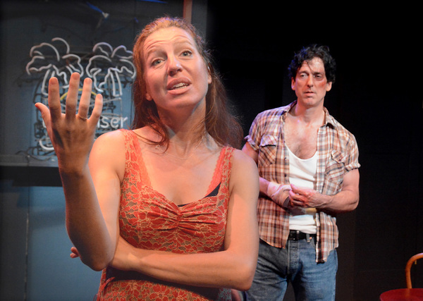 Photo Flash: First Look at DANNY AND THE DEEP BLUE SEA at Edgemar Center for the Arts