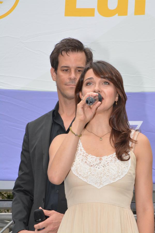 Jeremy Stolle and Rachel Eskenazi-Gold