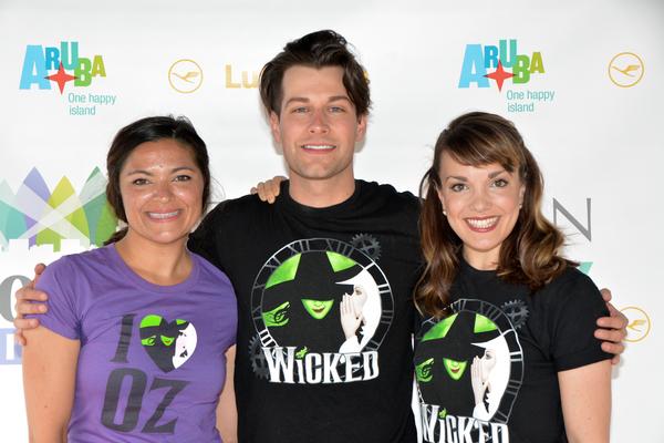 Jennifer DiNoia, Michael Campayno and Kara Lindsay