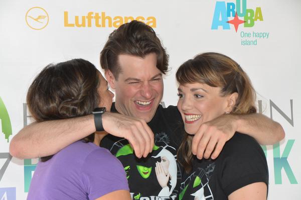 Jennifer DiNoia, Michael Campayno and Kara Lindsay Photo