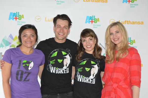Christine Nagy, Jennifer DiNoia, Michael Campayno and Kara Lindsay Photo