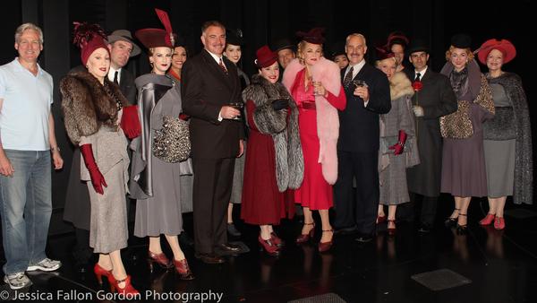 Photo Coverage: WAR PAINT Cast Toasts 100 Broadway Performances!