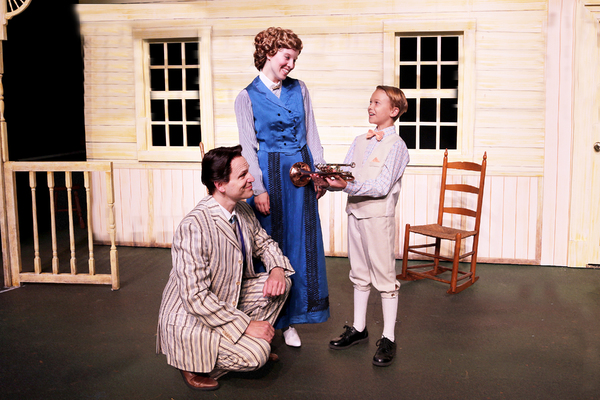 Brad Church, Katy Merriman, and Jack Gabby Photo