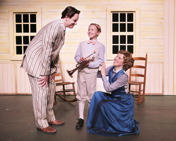 Photo Flash: First Look at THE MUSIC MAN at Des Moines Playhouse