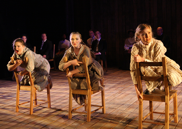 Madison Miller, Madeline Ellingson, and Alissa Finn
