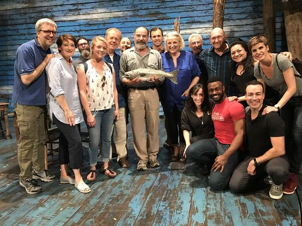 Mandy Patinkin and the cast of Come From Away