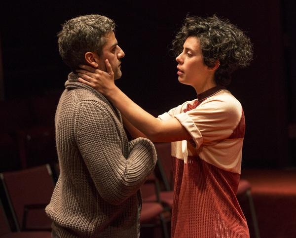 Oscar Isaac and Roberta Colindrez