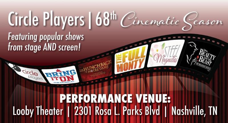 Nashville's Circle Players Reveals Cinema-Inspired 68th Season