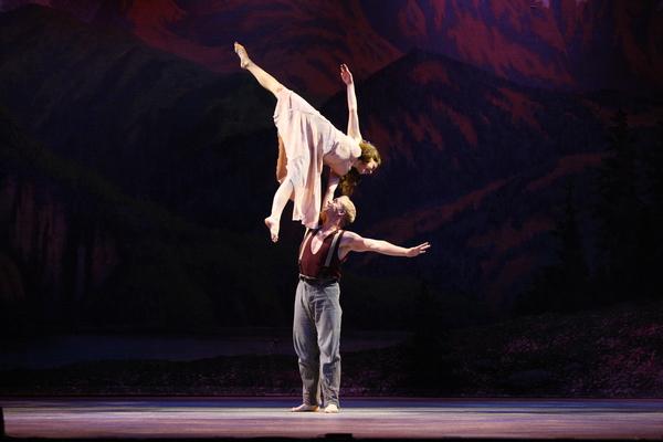 Lily Kaufmann and Matthew Davies Photo