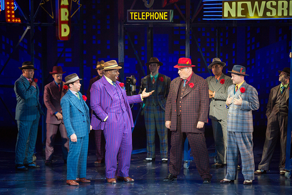 Photo Flash: GUYS AND DOLLS Rocks the Boat at The Old Globe