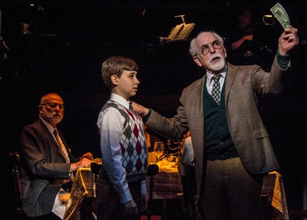 Howard Elson as Grandpa Gellman Joshua Turchin as Noah Gellman Gordon Stanley as Grandpa Stopnick Photo Credit: Daniel Winters