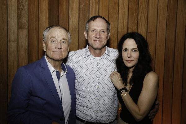 Denis Arndt,  Mark Brokaw and Mary-Louise Parker