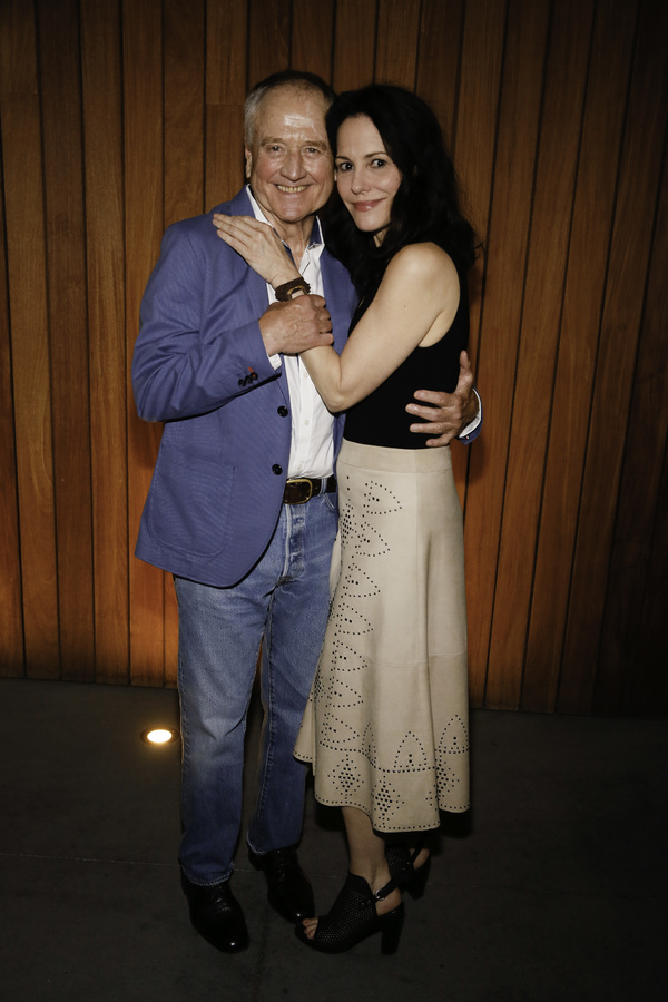 Denis Arndt and Mary-Louise Parker Photo