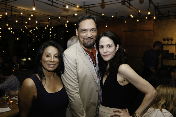 Wanda De Jesus and Jimmy Smits and Mary-Louise Parker