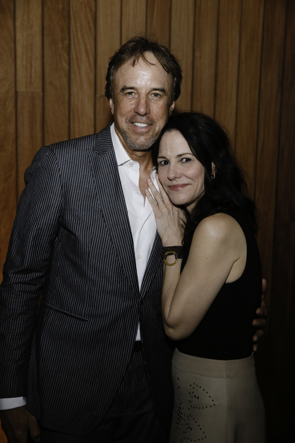 Kevin Nealon and Mary-Louise Parker