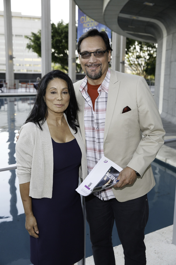 Wanda De Jesus and Jimmy Smits