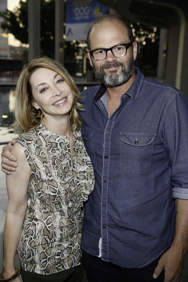 Sharon Lawrence and Chris Bauer Photo