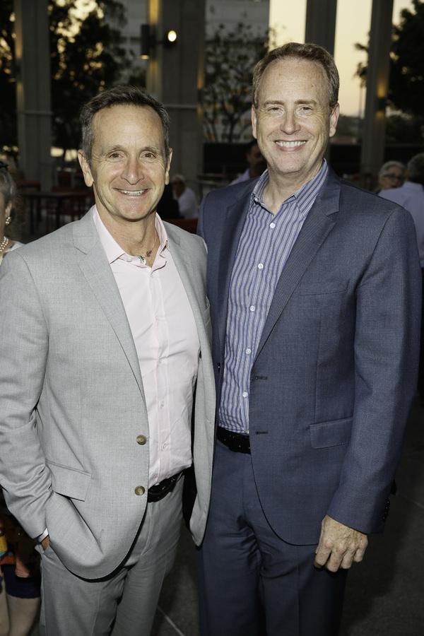 Dante Di Loreto and Robert Greenblatt  Photo