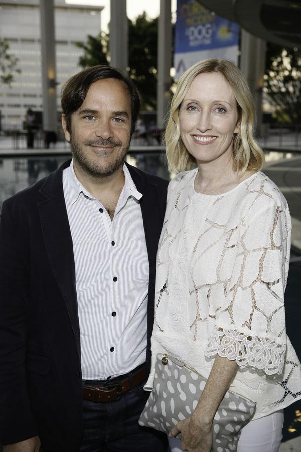 Marcelo Zarvos and Janel Moloney Photo