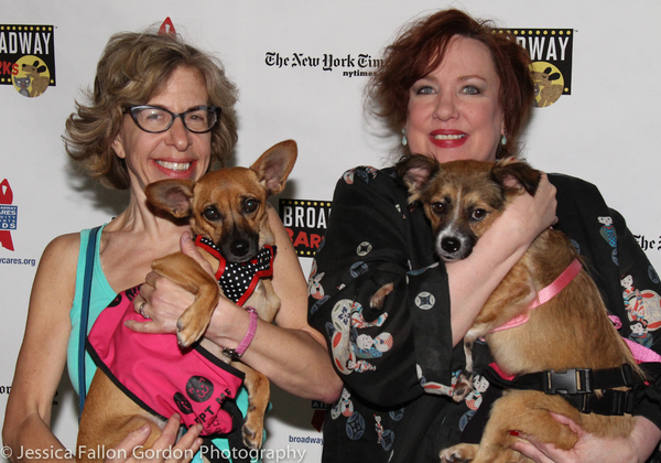 Jackie Hoffman and Kathy Fitzgerald