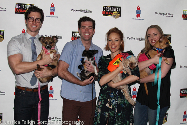 Photo Coverage: Stars of COME FROM AWAY, ANASTASIA, GROUNDHOG DAY and More Align for BROADWAY BARKS