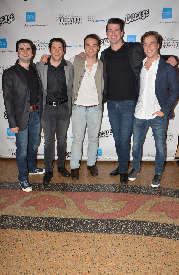 Chris Collins-Pisano, Casey Shane, Sam Wolf, Chris Stevens and Zach Erhardt