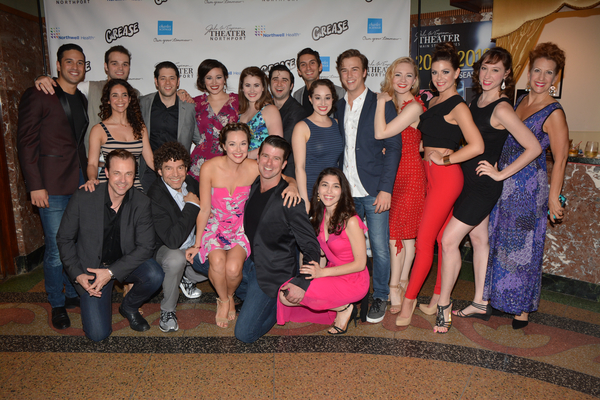 Paul Stancato, Dana Iannuzzi with the cast- Robert Serrano, Sam Wolf, Casey Shane, Laura Helm, Hannah Slabaugh, Chris Collins-Pisano, Tim Russell, Sari Alexander, Zach Erhardt, Kaitlin Nelson, Katherine Margo Brown, Courtney Fekete, Tracy Bidleman