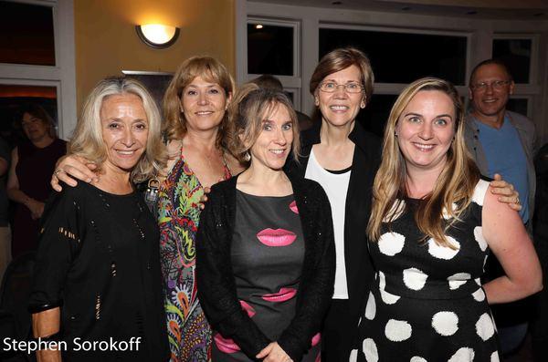 Eda Sorokoff, Elizabeth Aspenlieder, Bella Merlin, Elizabeth Warren Photo