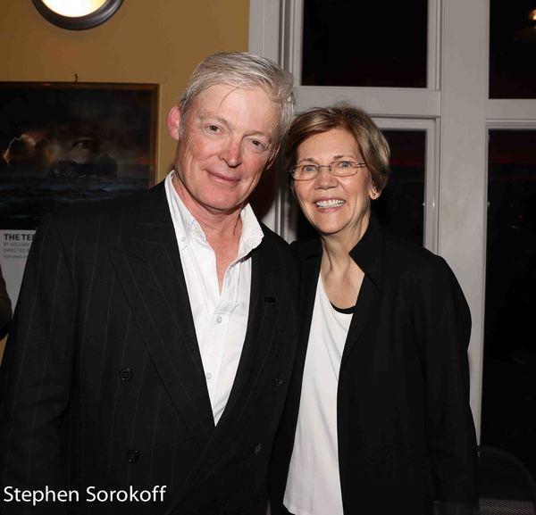 Allyn Burrows & Elizabeth Warren Photo