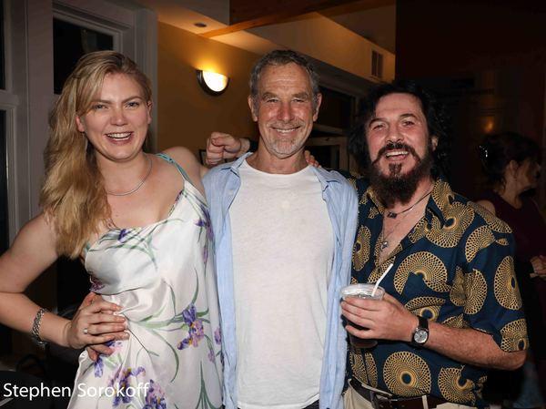 Ella Loudan, Nigel Gore, Jason Asprey Photo