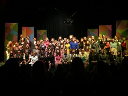 BWW Review: HOW TO SUCCEED IN BUSINESS WITHOUT REALLY TRYING at Sandra Day O'Connor High School