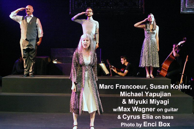 BWW Review: JACQUES BREL IS ALIVE AND WELL AND LIVING IN PARIS  Is Revived & Well At The Odyssey