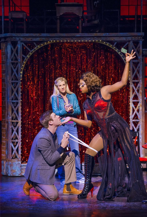 Photo Flash: First Look at Simon-Anthony Rhoden and Verity Rushworth in KINKY BOOTS