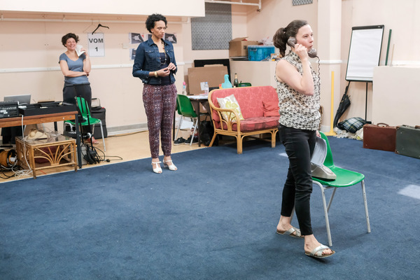 Photo Flash: In Rehearsals with DI AND VIV AND ROSE at the Stephen Joseph Theatre