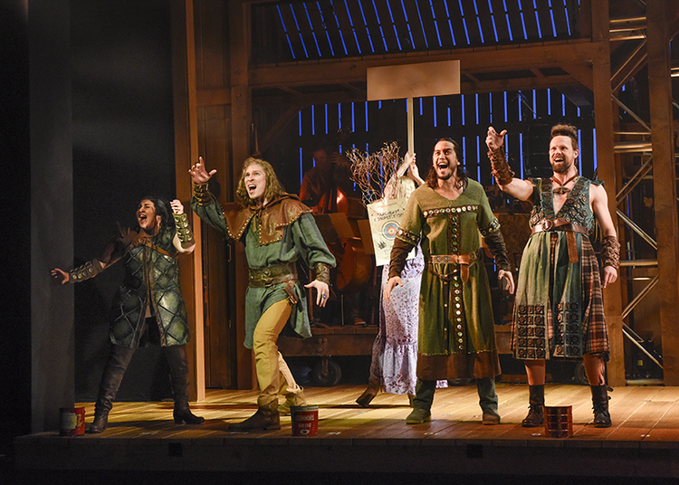 Review Roundup Robin Hood Musical Hood At Dallas Theater Center Updated