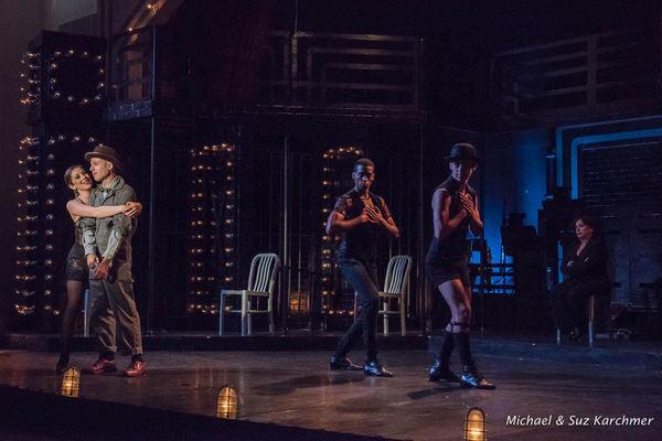 Maddie Garbaty, Michael Burke, Daniel Estrella and Adolfo Ortiz-Feder Photo