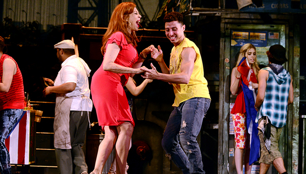 The cast of IN THE HEIGHTS at Pittsburgh CLO