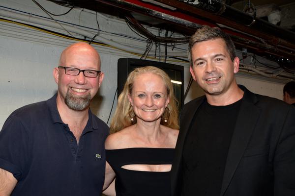 Scott Coulter, Vibecke Dahle and John Fischer