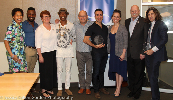 Representatives from Come From Away and A Doll's House, Part 2 with Allyson Tucker