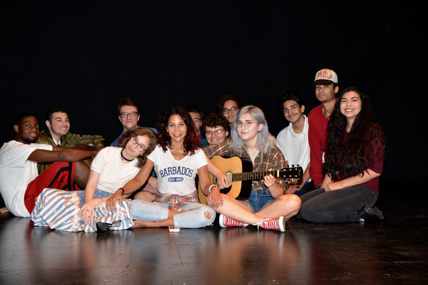 Photos: Daphne Rubin-Vega Rehearses with REBEL VERSES Youth Arts Festival at the Vineyard
